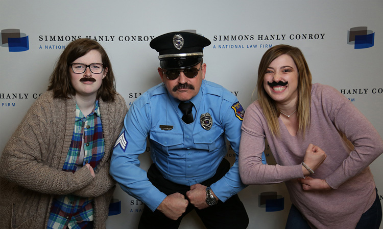 Simmons Hanly Conroy Supports MustacheMarch4PD