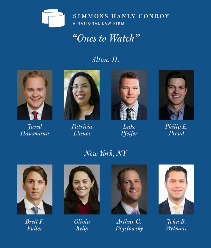 Eight Attorneys Named Best Lawyers® 'Ones to Watch'